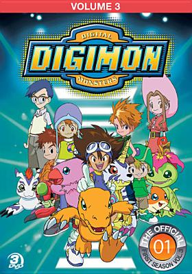 DIGIMON ADVENTURE:VOL 3 BY DIGIMON (DVD)